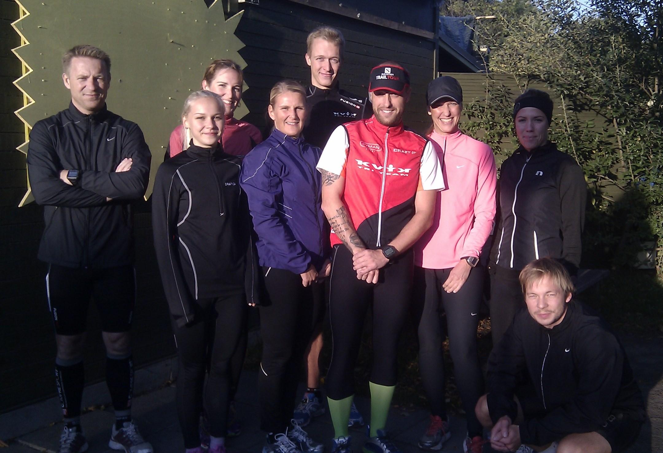 KVIK TRI TEAMs løbetræning giver styrke, hurtighed og godt humør