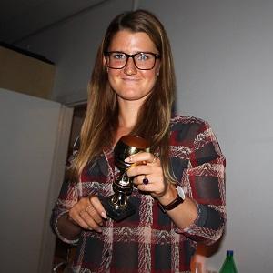 Julie Wieslander bev vinder af Den Gyldne Pokal 2015.