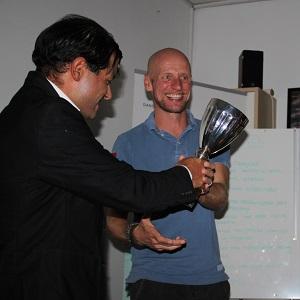 Formand Francisco Hygom fik rundet en travl sæson for klubbens medlemmer af og uddelt bestyrelsens pokale